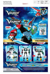 Voltron; Legendary Defender (TV) – Voltron Hyper-Phase Series – Voltron 5-pc Figure Box Set (SDCC 2018 Exclusive)