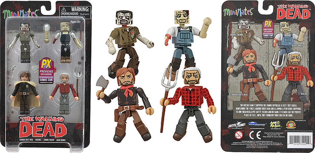 "Minimates – Walking Dead: ""Herschel's Farm"" Box Set (SDCC 2013 Previews Exclusive)"
