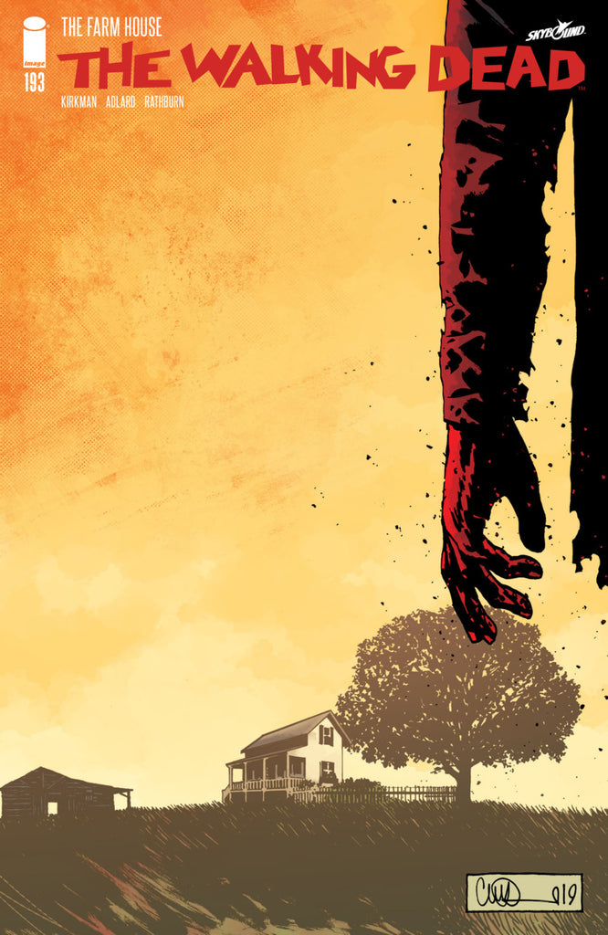 Walking Dead (2003 Series) #193 (Regular Cover - Charlie Adlard)