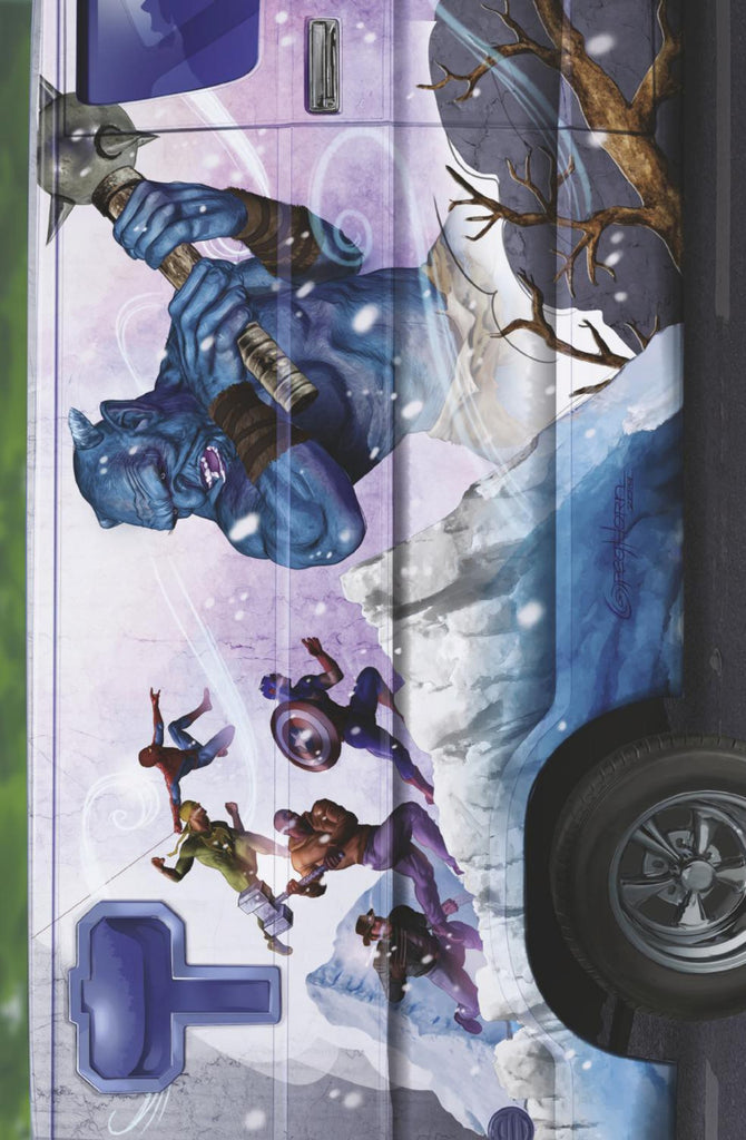 "War of the Realms (2019 mini-series) #3 (of 6) (Variant Incentive ""Van"" Cover - Greg Horn)"