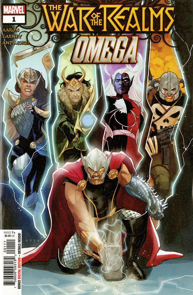 War of the Realms; Omega (2019 one-shot) #1 (Regular Cover - Phil Noto)