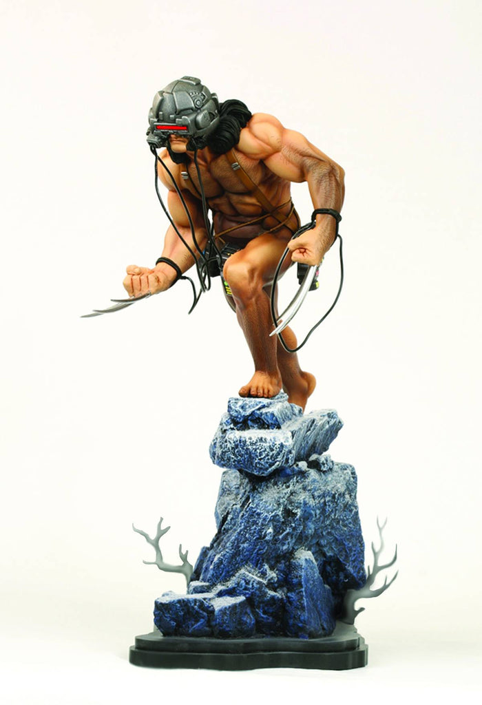 "X-Men:  Wolverine Full-Size Statue (Weapon X ""Lab Wired"" Version)"