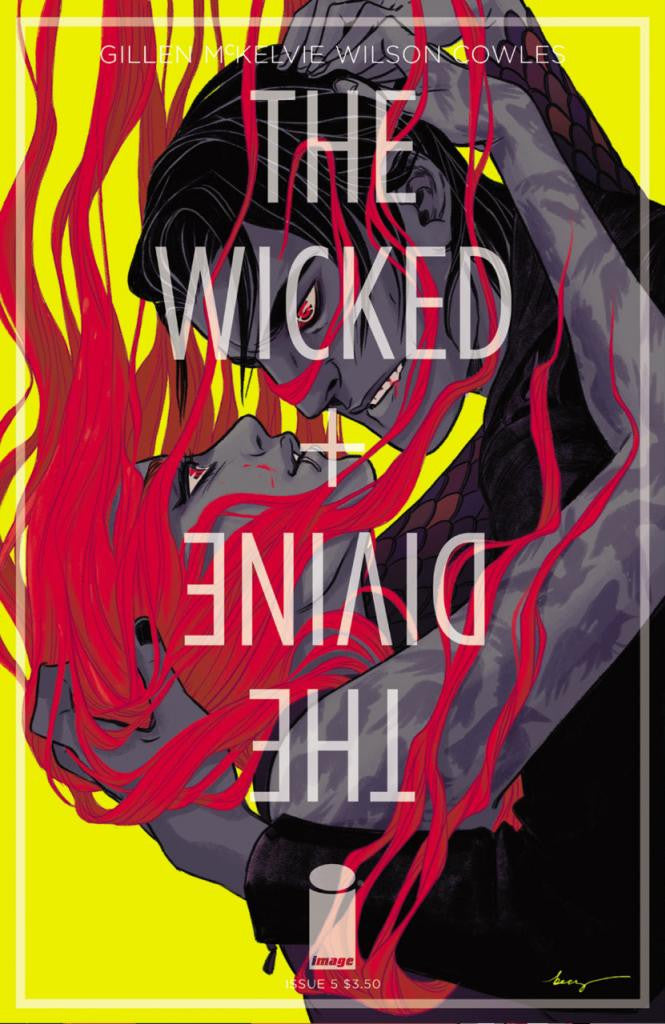 "Wicked + The Divine (2014 series) #05 (Variant ""B"" Cover - Becky Cloonan)"