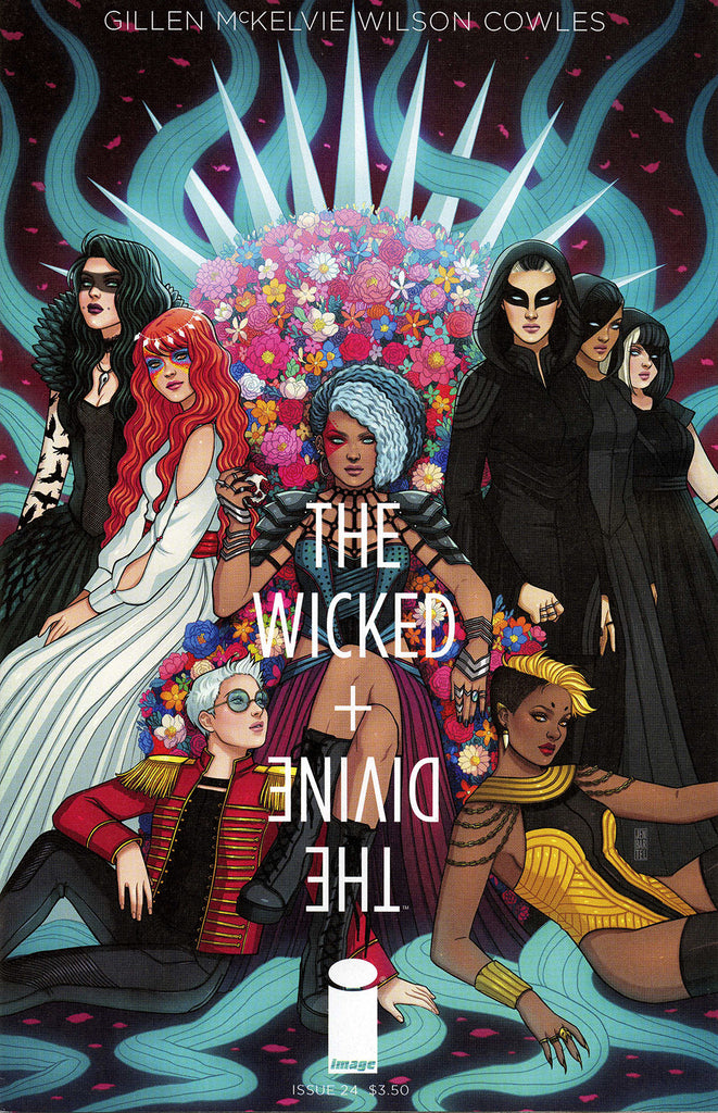 "Wicked + Divine (2014 Series) #24 (Variant ""B"" Cover - Jen Bartel)"