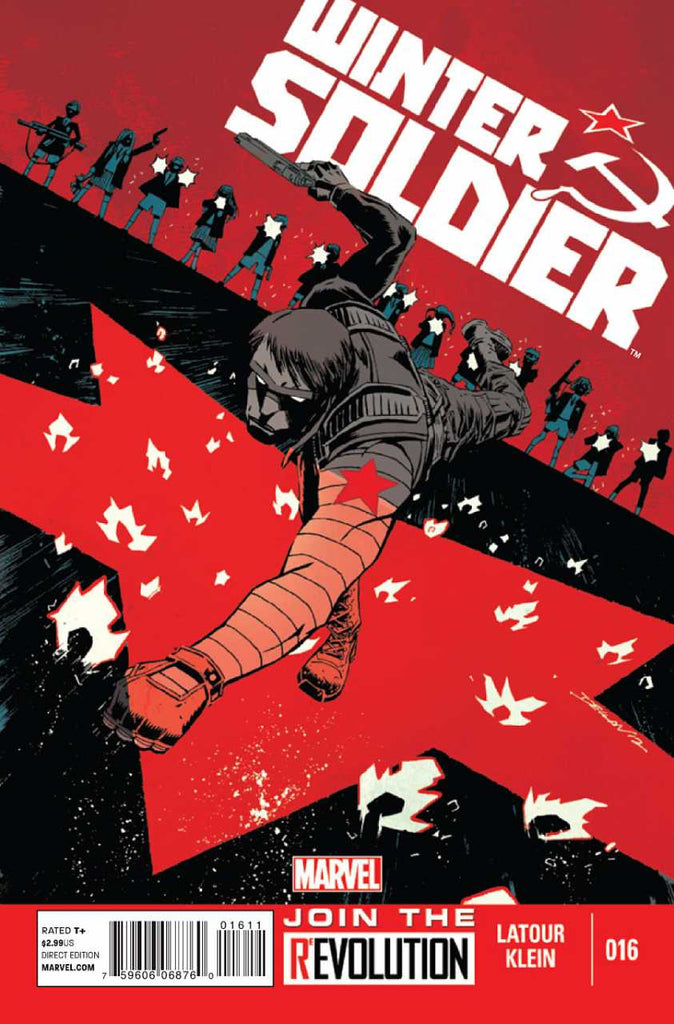 Winter Soldier (2011 Series) #16 (Regular Cover - Declan Shalvey)