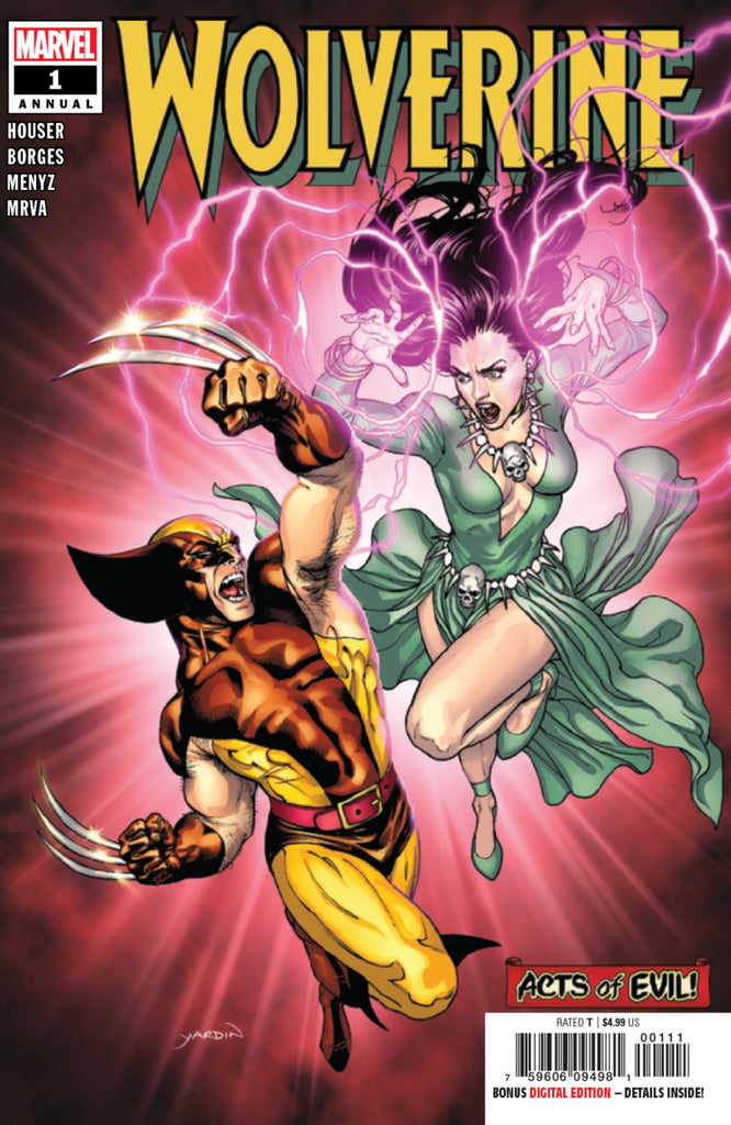 Wolverine (2013 Series) Annual #1 (Regular Cover - David Yardin)