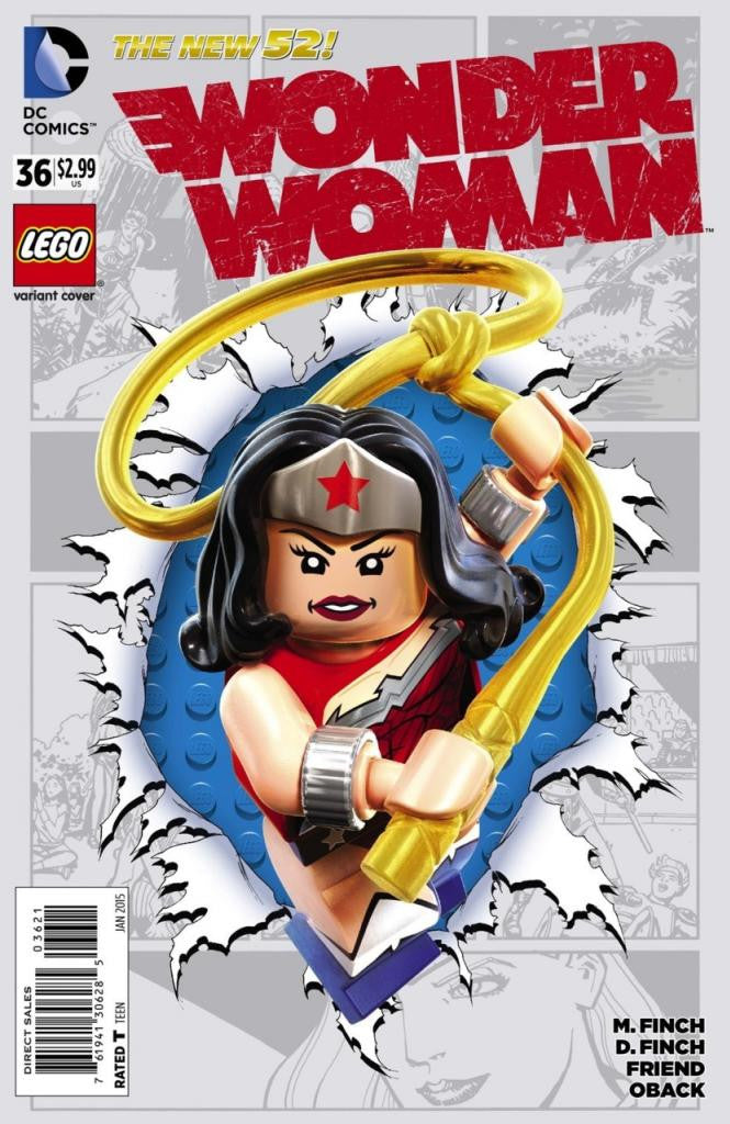 Wonder Woman (2011 Series) #36 (Variant Cover - LEGO)