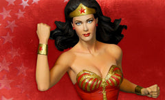 "New Adventures of Wonder Woman (TV) Lynda Carter as 1970'S Wonder Woman 14"" Maquette"