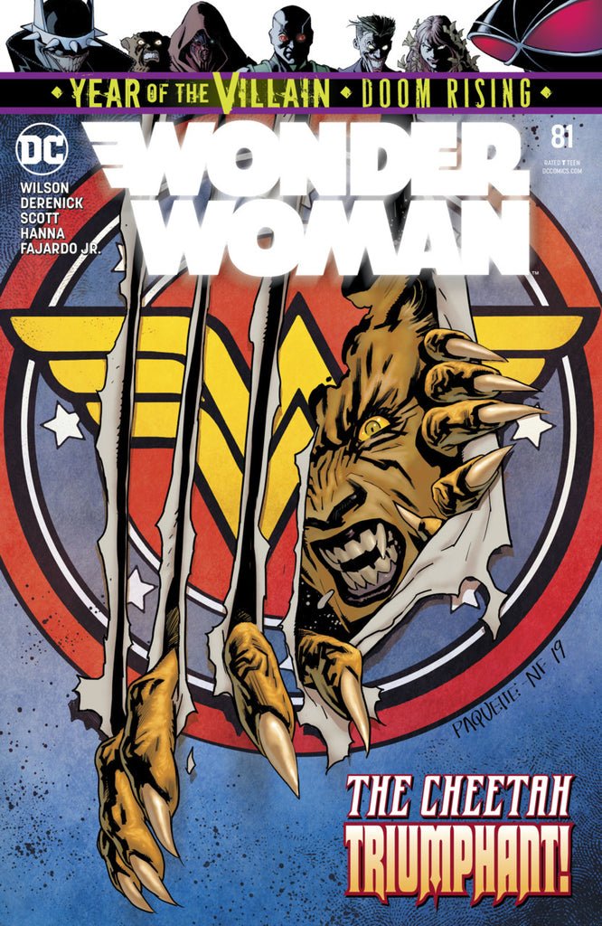 Wonder Woman (2016 Series) #52 (Regular Cover - Yanick Paquette)