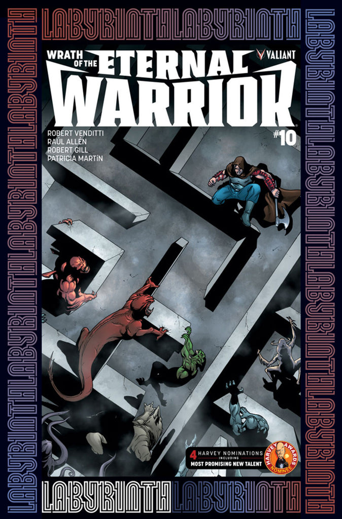 "Wrath of the Eternal Warrior (2015 Series) #10 (Variant ""B"" Cover - Pere Pérez)"