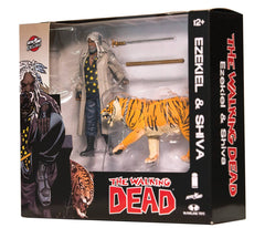 "Walking Dead – Skybound Exclusive Series – Ezikeil & Shiva 6"" Figure 2-Pack (Regular ""Clean"" Version) (NYCC 2017 Exclusive)"