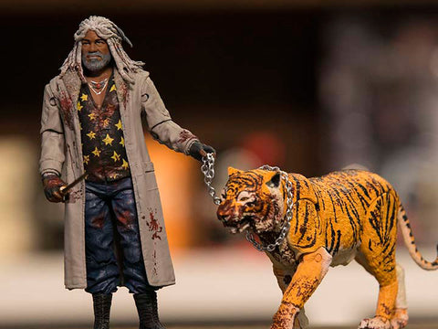 "Walking Dead – Skybound Exclusive Series – Ezikeil & Shiva 6"" Figure 2-Pack (Variant ""Bloody"" Version) (NYCC 2017 Exclusive)"
