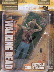 "Walking Dead (TV) – Series 2 – Bicycle Girl Zombie 6"" Figure with Crawling Action"