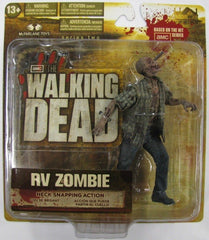 "Walking Dead (TV) – Series 2 – RV Zombie 6"" Figure with Neck Snapping Action"