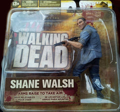 "Walking Dead (TV) – Series 2 – Shane Walsh 6"" Figure with Arms Raised to Take Aim"