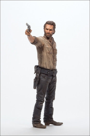 "Walking Dead (TV) – Series 6 – Deluxe Figure – Rick Grimes 10"" Figure with Rifle"