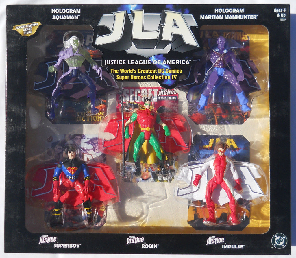 "World's Greatest DC Heroes Box Set – Collection III – JLA 5"" Figure 5-Pack (Dead Heroes)"