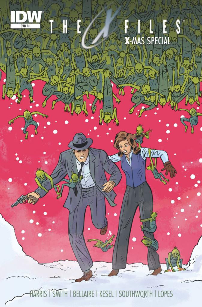 X-Files: X-Mas Special (2014 One-Shot) (Variant Incentive Cover - Vic Malhotra)