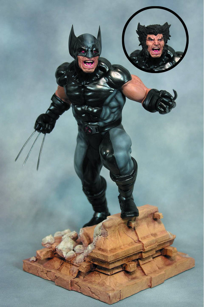 X-Men:  Wolverine Fine Art Statue (X-Force Version)