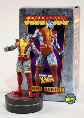X-Men –  Colossus – Mini-Statue (Variant Super-Chrome Version) (SDCC 2003 Exclusive)