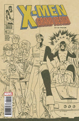 X-Men; Grand Design (2017 mini-series) #1-2 [SET] — American History X (All Variant 2nd Printing Covers)