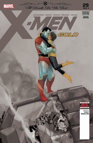 X-Men: Gold (2017 Series) #29 (Variant 2nd Printing Cover - Phil Noto)