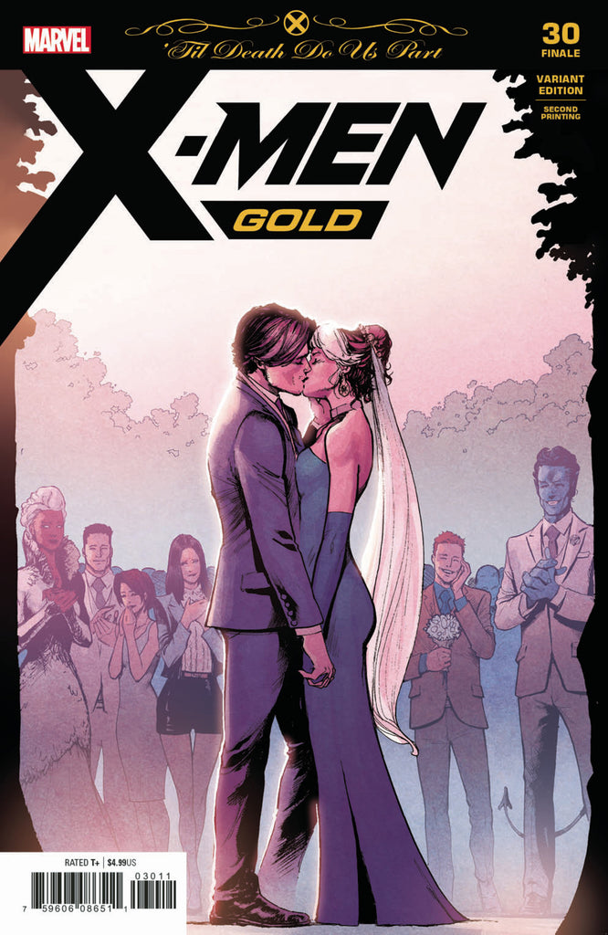 X-Men: Gold (2017 Series) #30 (Variant 2nd Printing Cover - David Marquez)