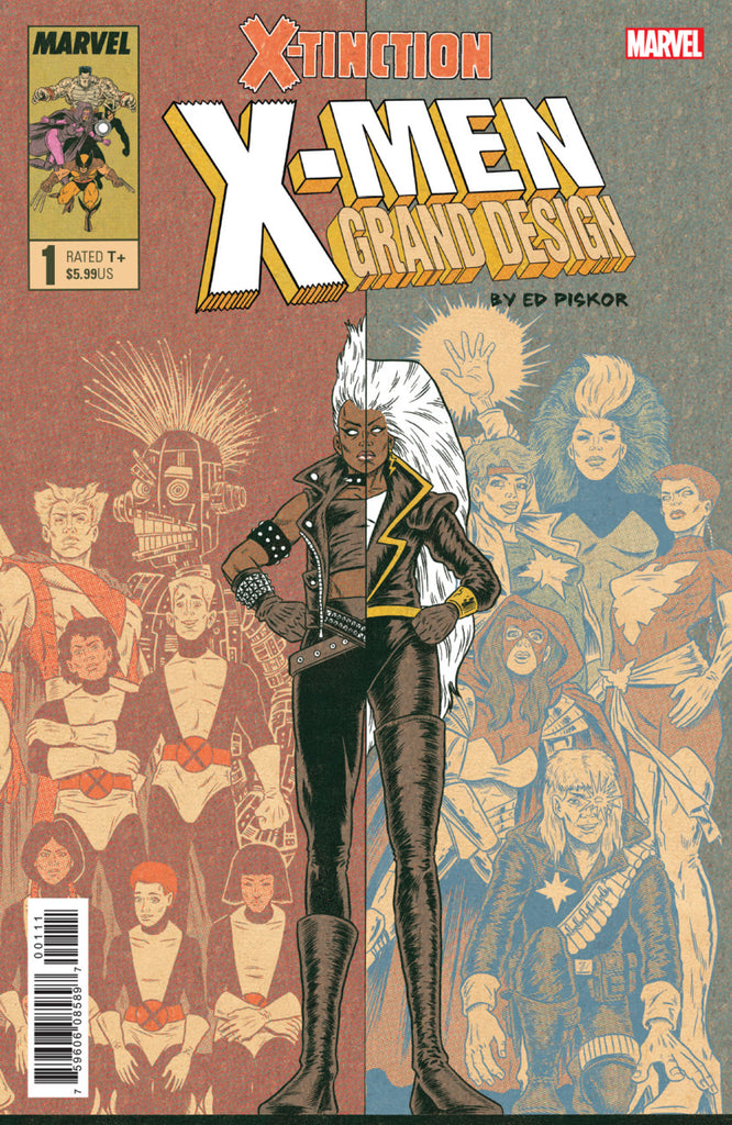X-Men; Grand Design (2019 mini-series) #1-2 [SET] — Volume 03: X-Tinction (All Regular Covers)