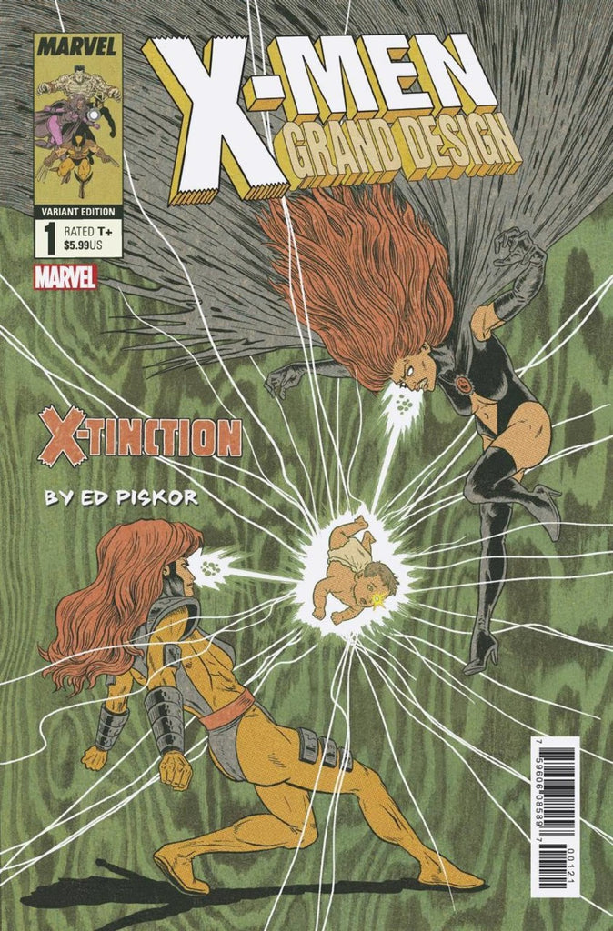 "X-Men; Grand Design (2019 mini-series) #1-2 [SET] — Volume 03: X-Tinction (All Variant ""Character"" Covers)"