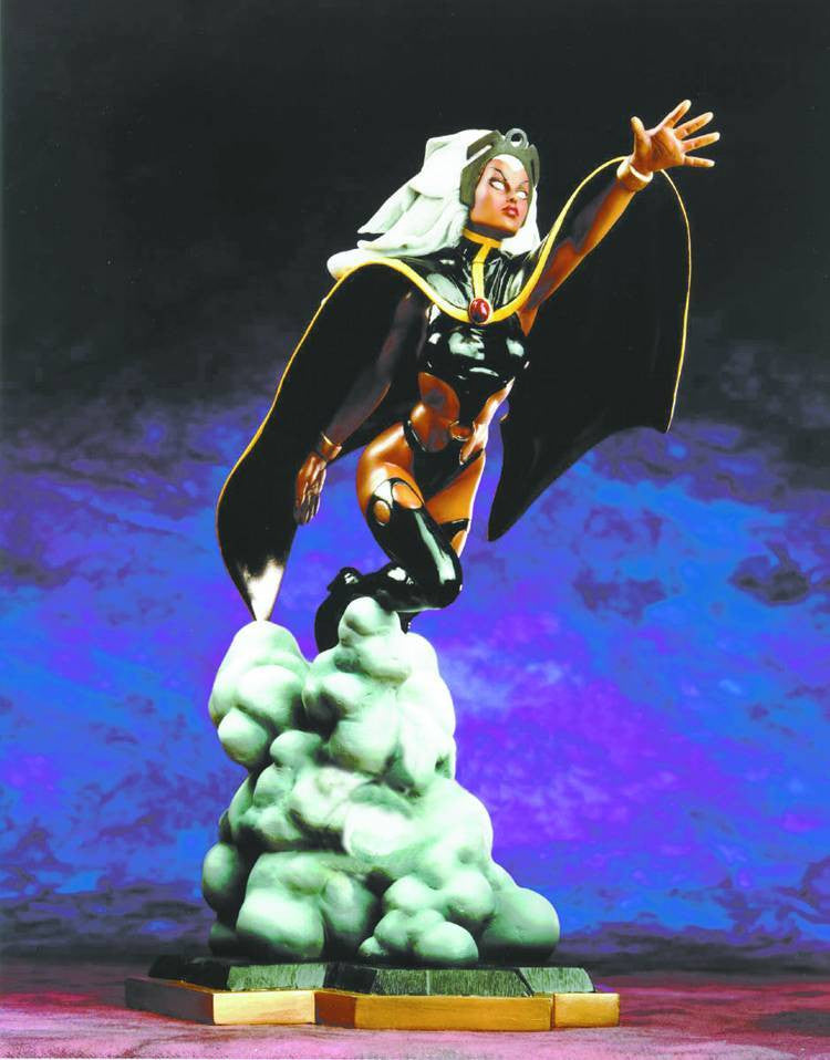X-Men:  Storm Mini-Statue (Action Version) (Black Costume Edition)