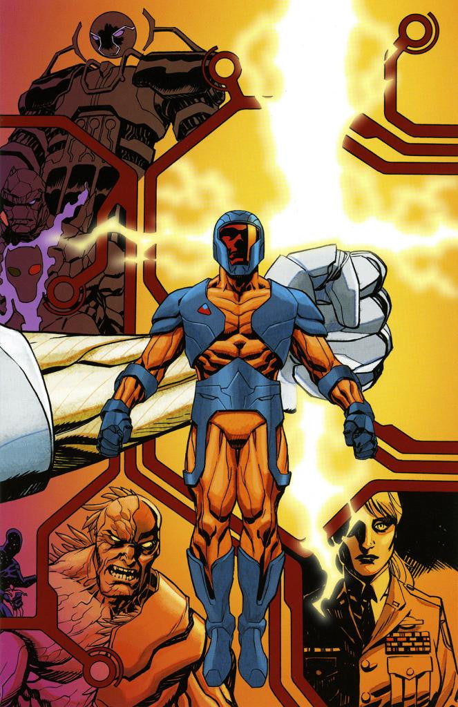 "X-O Manowar (2012 Series) #0 (Variant Connecting ""G"" Cover - Dave Johnson)"