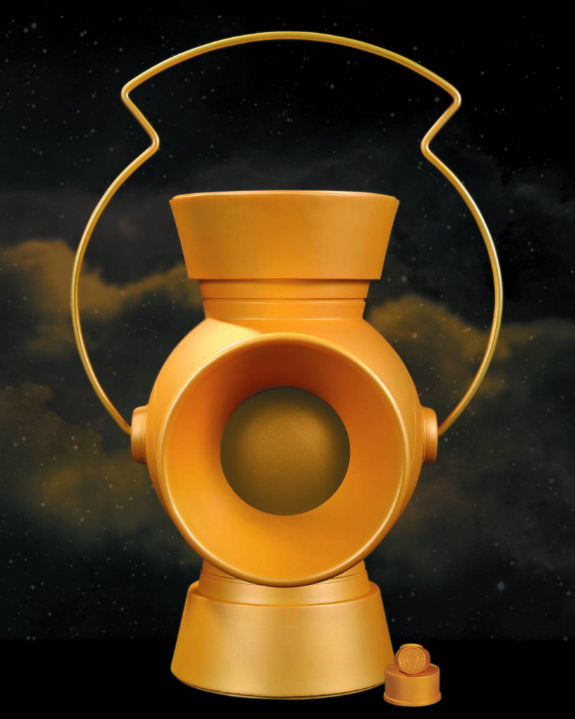 Yellow Lantern 1:1 Scale Power Battery & Ring Prop (2013 Issue)