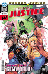 Young Justice (2018 series) #01-6 [SET] — Volume 01: Gemworld (All Regular Covers)