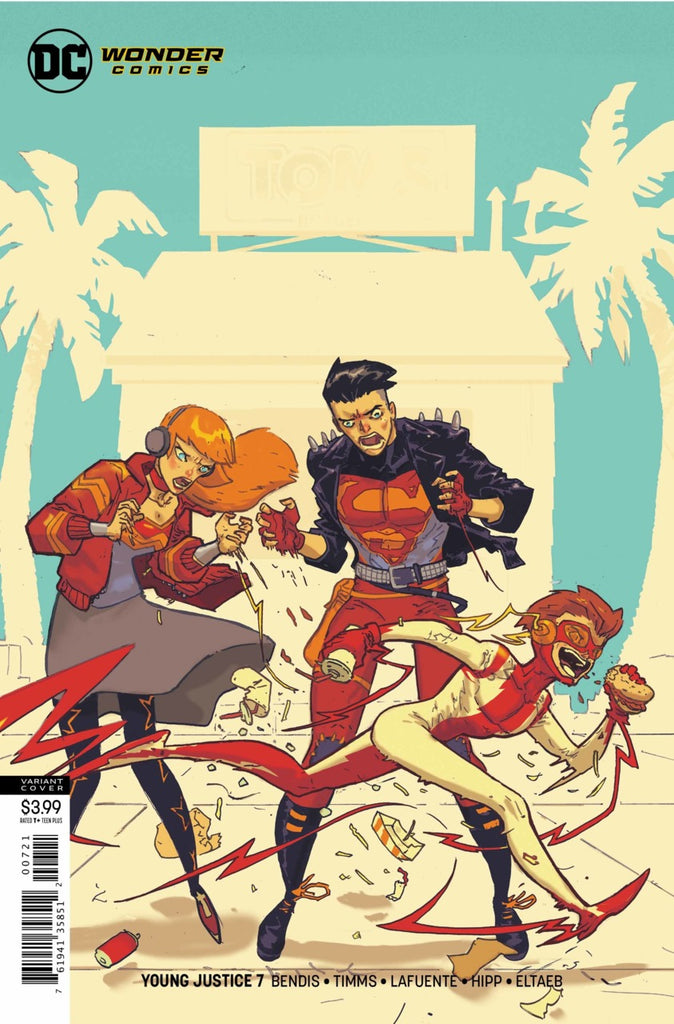 Young Justice (2018 series) #7 (Variant Cover - Riley Rossmo)