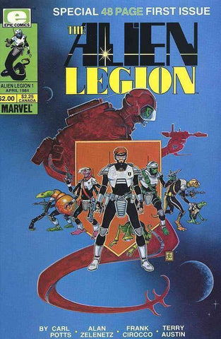 Alien Legion (1984 Series) #1