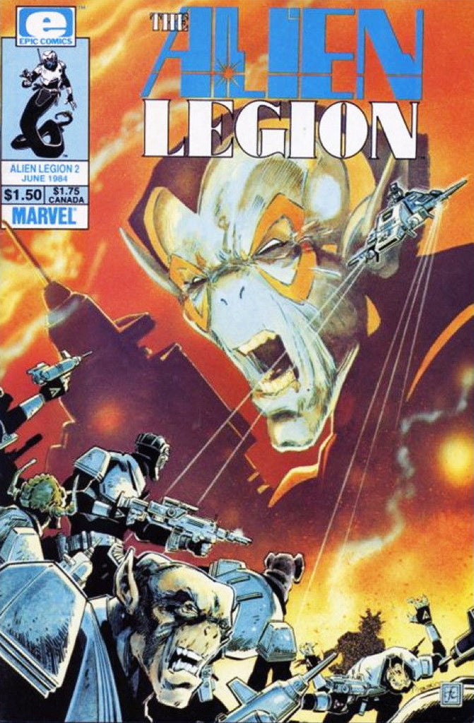 Alien Legion (1984 Series) #2