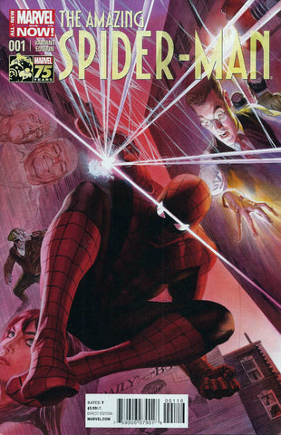 Amazing Spider-Man (2014 Series) #1 (Variant Incentive Cover - Alex Ross)