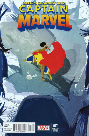 "Captain Marvel (2012 Series) #17 (Variant ""Thor Battle"" Cover - Pascal Campion)"