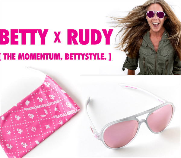 17aa9ae1b2 betty x RUDY launch. BETTY DESIGNS BRINGS THE MOMENTUM WITH SIGNATURE RUDY  PROJECT SUNGLASS