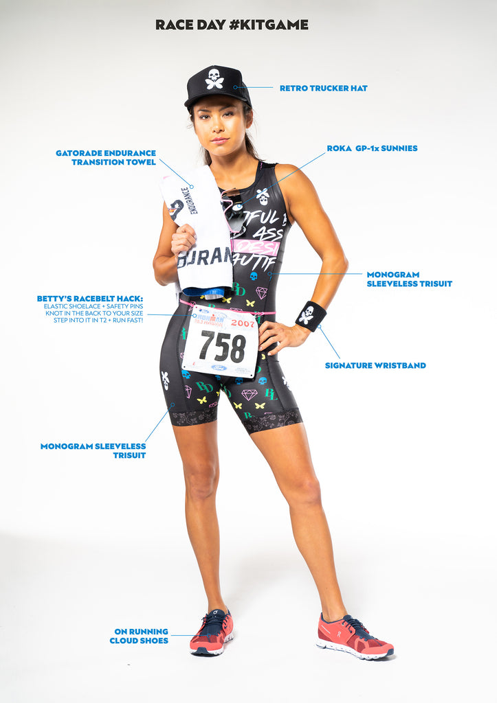 Betty Designs Triathlon Race Day Kit Game