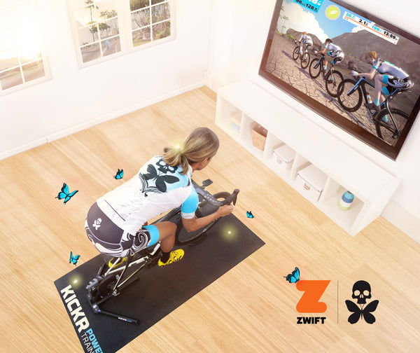 Betty Designs on Zwift
