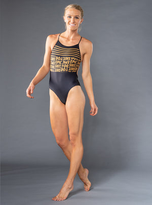 betty designs do epic shit one piece swimsuit