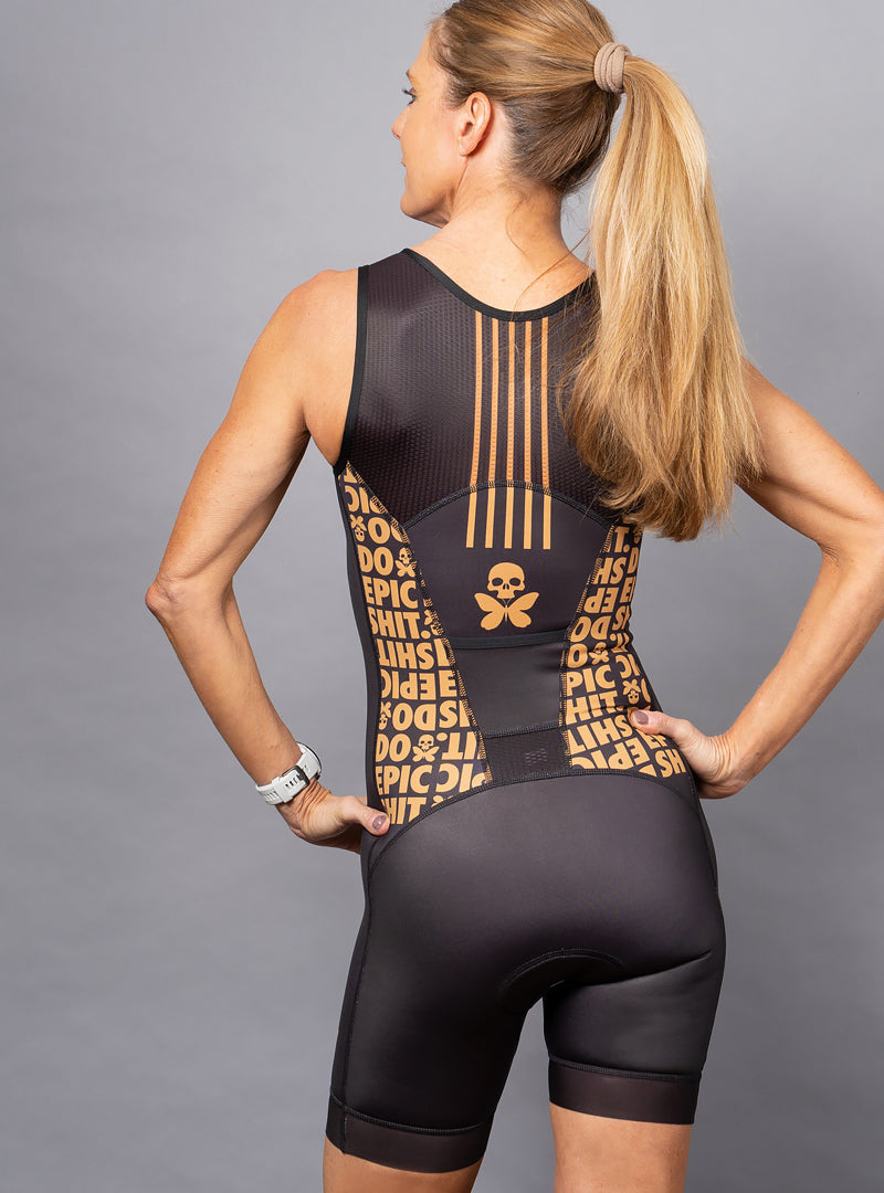 betty designs do epic shit sleeveless tri suit