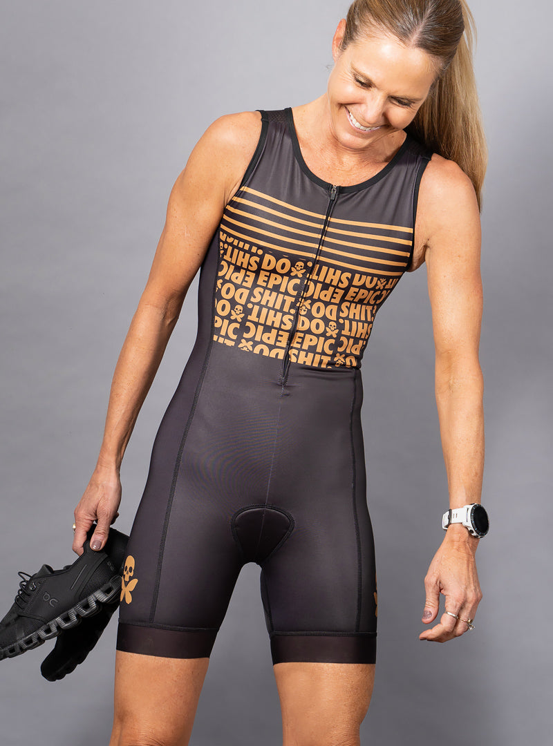 Do Epic Shit Sleeveless Trisuit