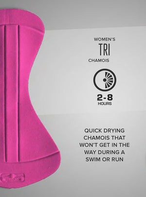 betty designs tri chamois