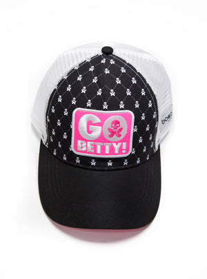 betty designs trucker hat trucker cap