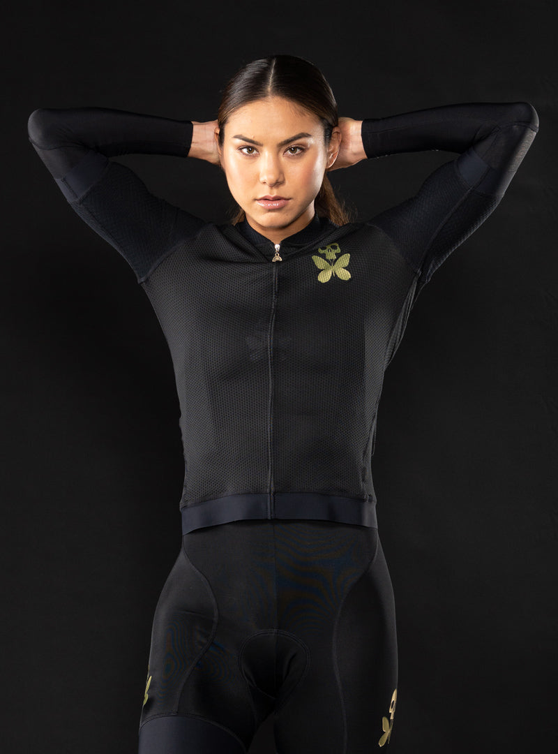 Luxe Black Arm Warmers