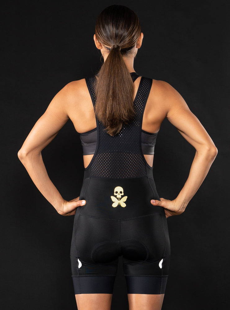 Luxe Black Cycle Bib Short