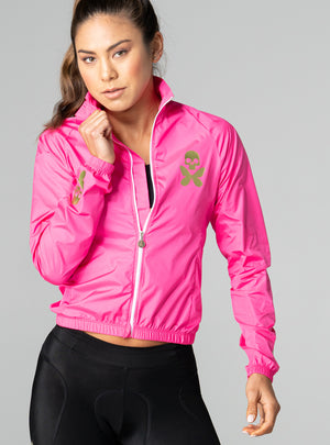 Luxe Pink Lightweight Jacket