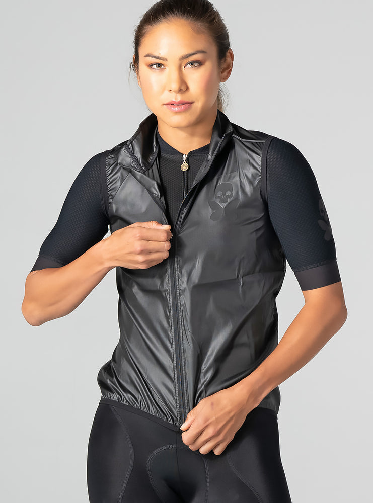 betty designs luxe onyx lightweight vest